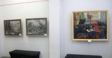 В районном центре досуга проходит выставка